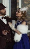 Свадебные меховые палантины прокат продажа Москва