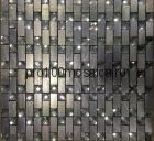 Olimp XI металл. Мозаика серия METAL, вид MIX (СМЕСИ),  размер, мм: 300*300 (ORRO Mosaic)