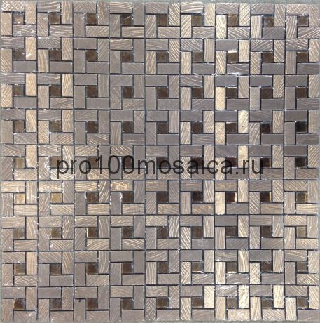Zarina VII металл. Мозаика серия METAL, размер, мм: 300*300 (ORRO Mosaic)