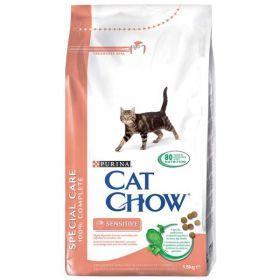 CAT CHOW SPECIAL CARE сухой 15кг для кошек с чувствительным пищеварением