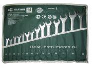 GR-ECK014 Набор ключей комбинированных 14 предметов 10-32мм GARWIN