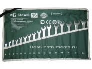 GR-ECK016 Набор ключей комбинированных 16 пр. 6-24мм GARWIN