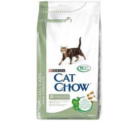 CAT CHOW SPECIAL CARE STERILIZED сухой 15 кг для Кастрированных и Стерилизованных кошек
