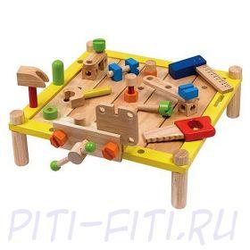 "I'm toy. Набор развивающий  ""Столярный стол"""