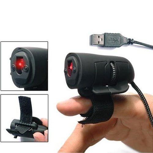Оптическая USB-мышь на палец