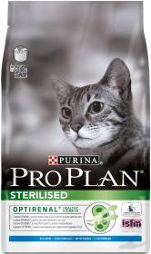 PRO PLAN STERILISED сухой 10+2 кг для кошек кастрированных и стерилизованных Кролик с Рисом