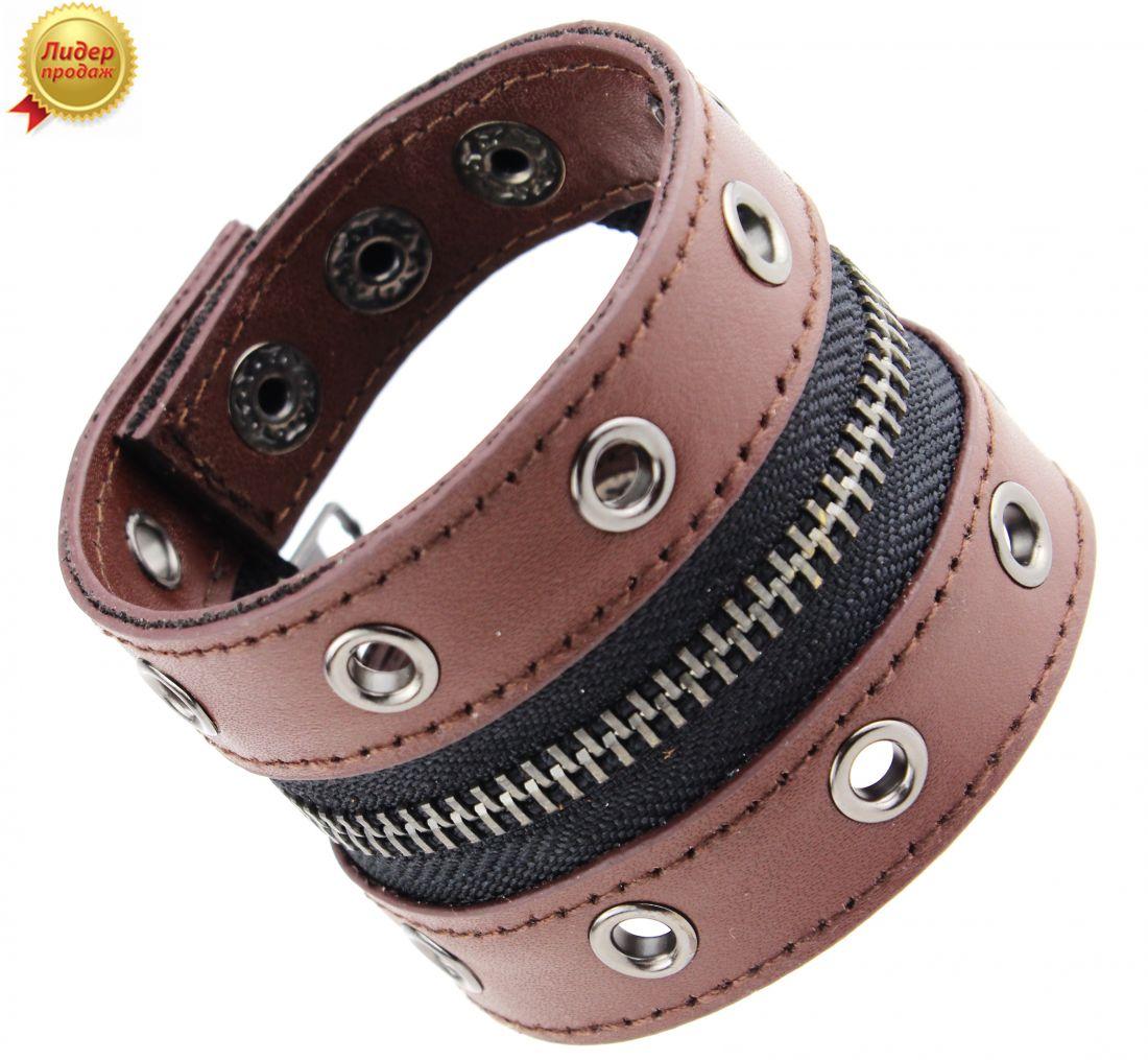 Кожаный браслет 297NT-Shir
