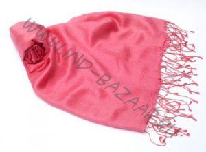 """Розовый шарф-палантин """"Шелковая нега"""""""