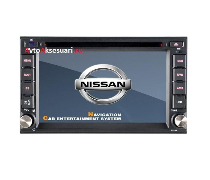 Штатная магнитола для Nissan