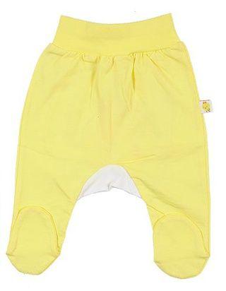 Ползунки детские желтые
