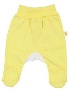 Ползунки желтые для девочки