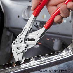 Ключ клещевой переставной - гаечный ключ КЛЮЧ КЛЕЩЕВОЙ с двухкомпонентными рукоятками KNIPEX 86 05 250
