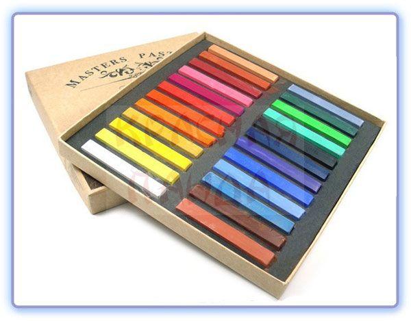 Мелки для волос - 24 цвета | Пастель для волос