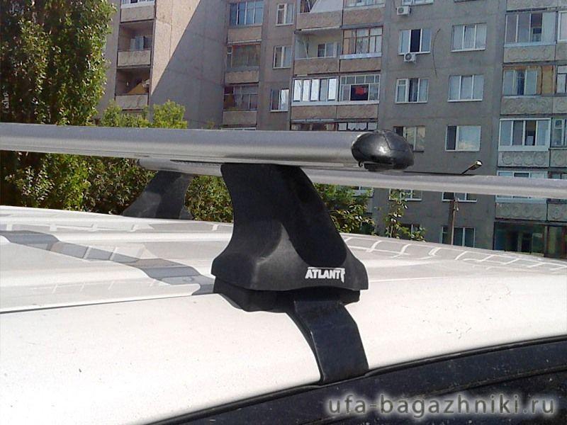 Багажник на крышу Toyota RAV4 xa40 (c 2013 г.), Атлант, аэродинамические дуги