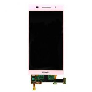 LCD (Дисплей) Huawei Ascend P6 (с тачскрином) (pink)