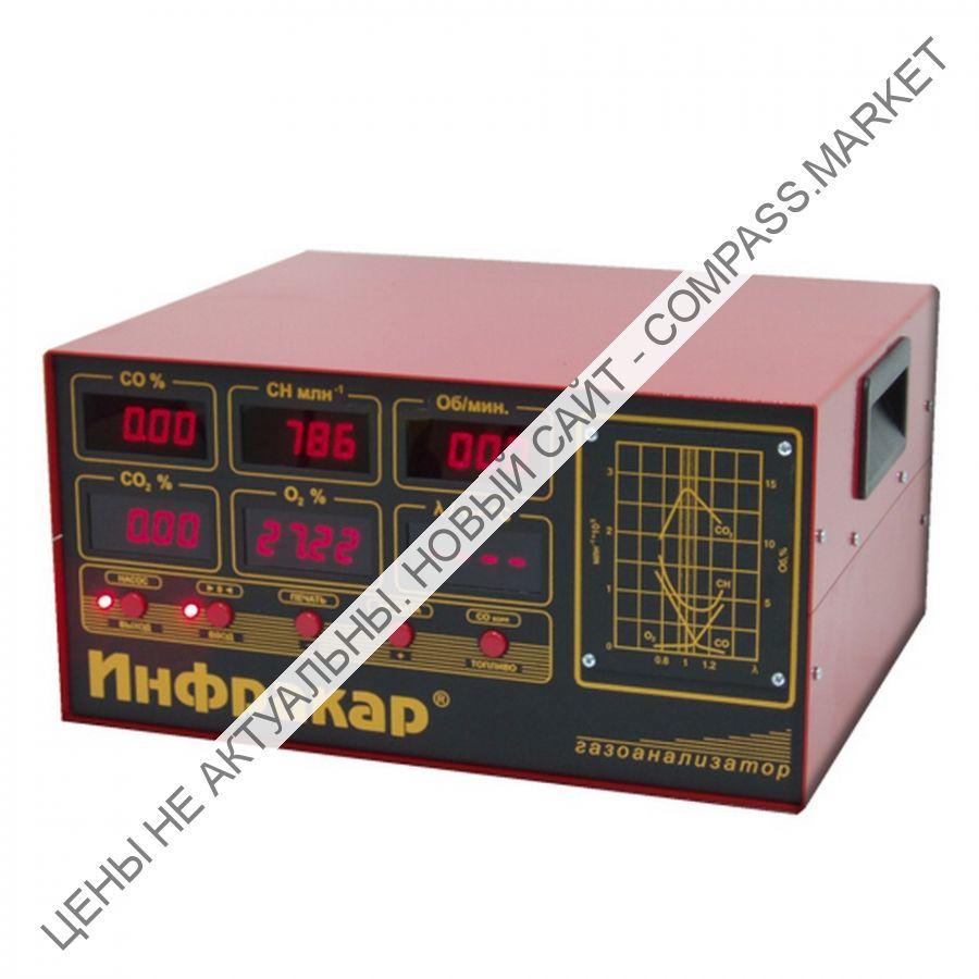 Газоанализатор 4-х компонентный, Инфракар (Россия)