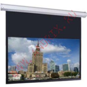 Экран с электроприводом Classic Solution Premier Taurus 498х498 см (16:9) extra drop
