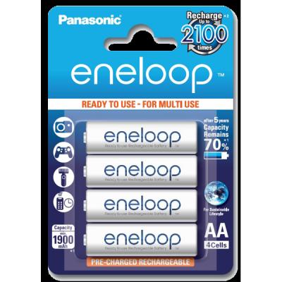 Аккумуляторы AA Panasonic Eneloop 2000мАч