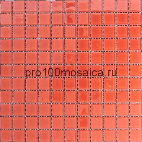 Red Rose . Мозаика для бассейнов и  внутр. помещ. серия CRISTAL,  размер, мм: 295*295