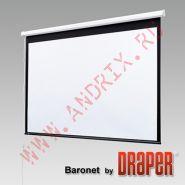 "Экран с электроприводом Draper Baronet 244/96"" (8') 152x203 MW ebd 28"" (3:4)"