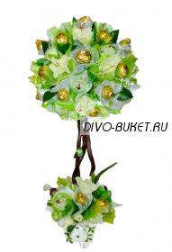 """Топиарий из конфет №107 """"Свежесть"""""""