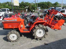 Японский трактор KUBOTA B40