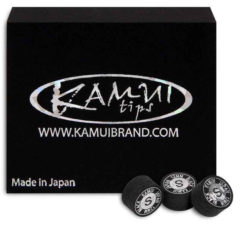 Наклейка для кия Kamui Black ø12мм Soft 1шт, артикул 05236