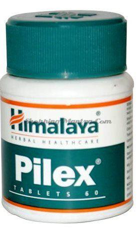 Пайлекс Хималая от варикозного расширения вен и геморроя /Himalaya Pilex Tablets