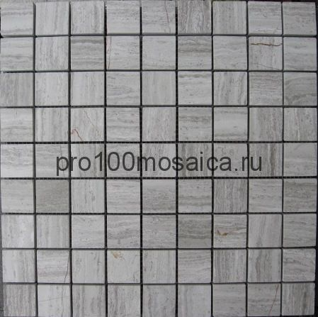 WOOD VIEN POL 30x30. Мозаика серия STONE, размер, мм: 305*305*7мм (ORRO Mosaic)