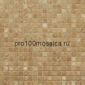 NOCE DARK Tum. 15x15. Мозаика серия STONE,  размер, мм: 305*305 (ORRO Mosaic)