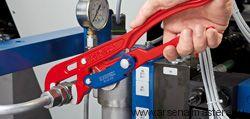 Клещи трубные с S-образным смыканием губок (Ключ трубный) KNIPEX 83 61 010