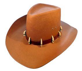 Ковбойская шляпа с клыками