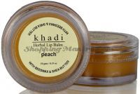 Khadi Herbal Peach Lip Balm