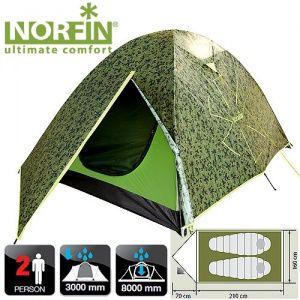 Купить Палатка 2-х местная Norfin COD 2 NC-10102