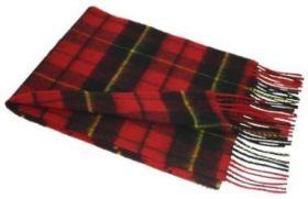 Шотландский шарф, тартан клана Уоллес (Храброе сердце) WALLACE MODERN TARTAN.