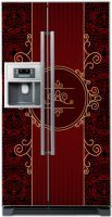 Виниловая наклейка на холодильник - Роскошь 1