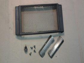 декоративная накладка радиатора и датчик включения вентилятора   Honda  CB400
