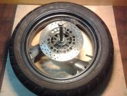 заднее колесо, ось, втулка колеса. Yamaha  XJR400