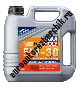 Cинтетическое моторное масло Special Tec LL 5W-30 4л. (LIQUI MOLY) 7654