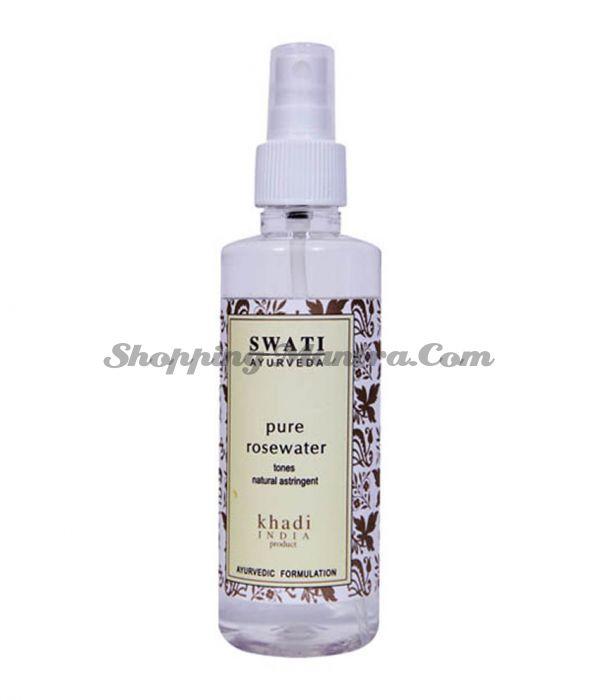 Тоник-спрей для лица Розовая вода Свати Аюрведа / Swati Ayurveda Rosewater Mist