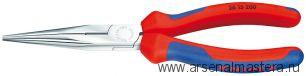 """Длинногубцы модель """"Аист"""" (С РЕЗЦОМ) KNIPEX 26 15 200"""