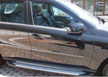 Боковые подножки Can, серия Сапфир, алюминиевые, на DCab