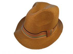 Шляпа светло коричневая летная унисекс