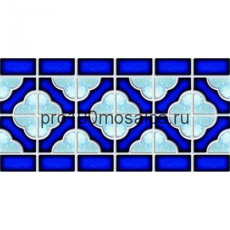 BW0020. Мозаика Декор серия PORCELAIN,  размер, мм: 150*306 (NS Mosaic)