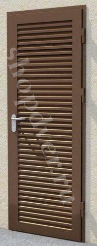 Металлические жалюзийные двери и ставни