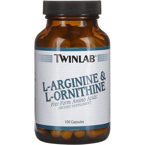 L-aginine & L-ornithine (100 кап.)