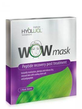 HYALUAL WOW mask гидрогелевая пептидная маска (1 шт.)