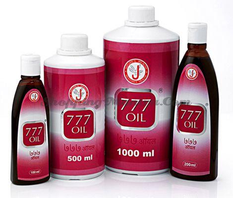 Масло для лечения псориаза Dr.J.R.K'S Siddha 777 Oil