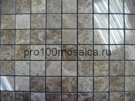 EMPERADOR LIGHT Pol. 30х30. Мозаика серия STONE,  размер, мм: 305*305*7 (ORRO Mosaic)