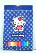"""Цветные карандаши 18цв. АСТ """"Hello kitty"""" (арт. 204-0003-HK/CB) (00225)"""